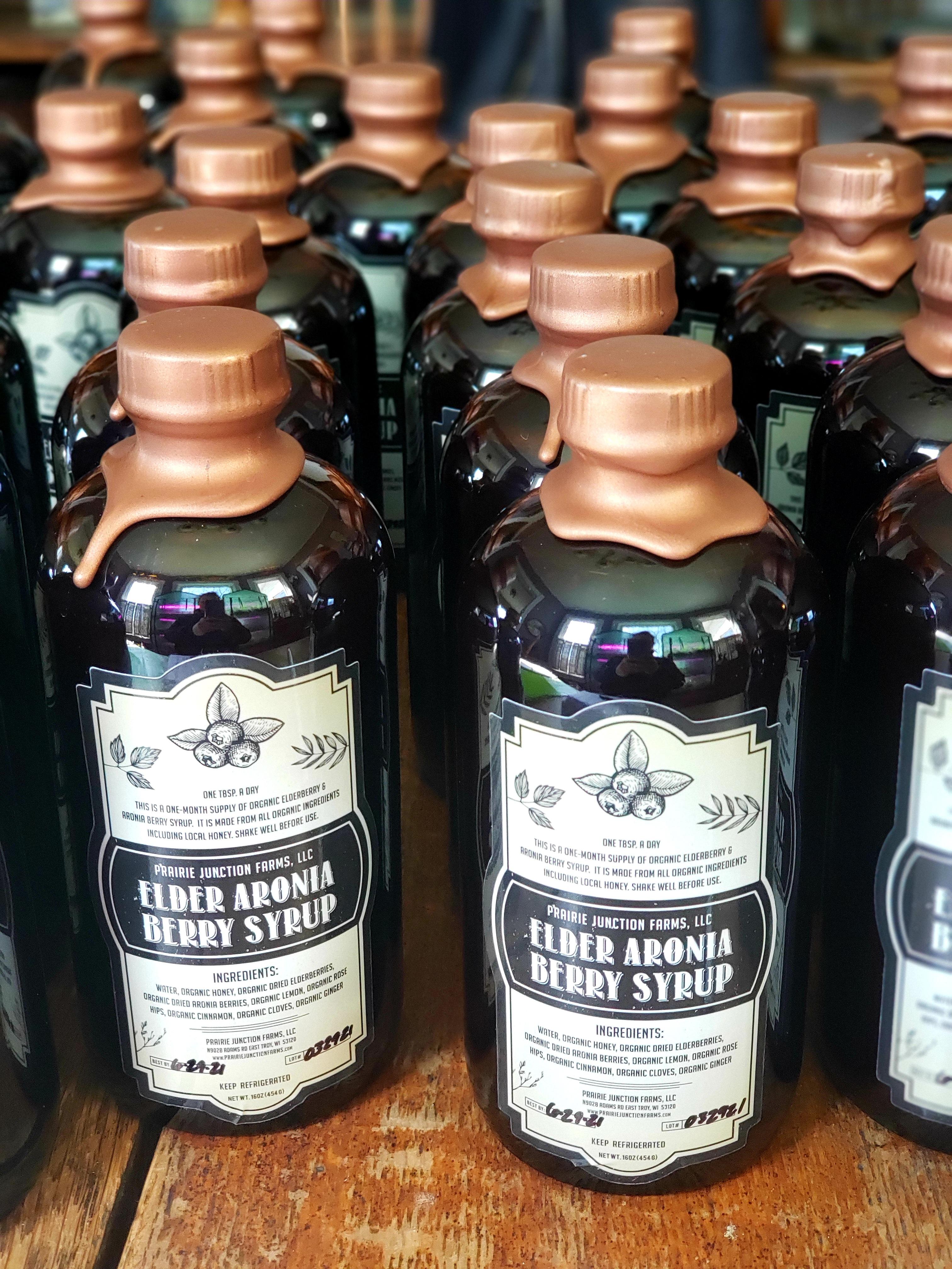 many bottles