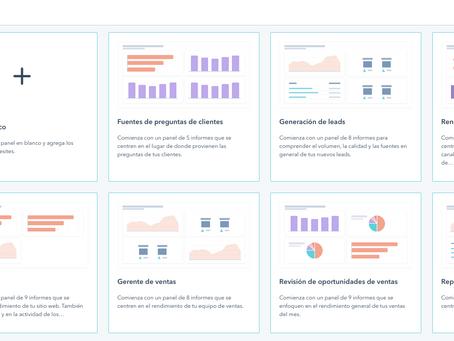 Cómo crear un informe o panel Hubspot personalizado paso a paso para comerciales