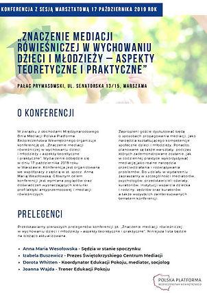 Ulotka_konferencyjna_Znaczenie_mediacji_