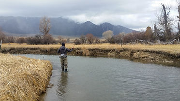 Fishing access and clean water in the Ruby Valley