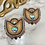 Thumbnail: Floral Beaded Earrings with Abalone shell