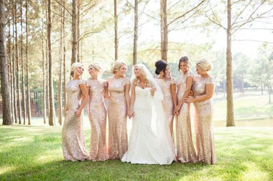 BRIDESMAIDS GOWNS: A BOLD NEW LOOK