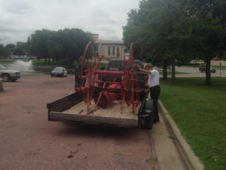 Fire Hose Cart has a New Home