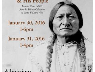 Exciting Sitting Bull Exhibit!