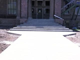 New Sidewalk & Steps