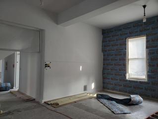 East Wing - 1st Floor Restoration Started!
