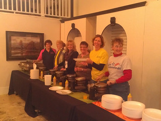Yummy... Waffle Feed Fundraisier for Mead