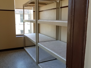 Shelves Are In