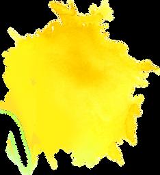 tache jaune