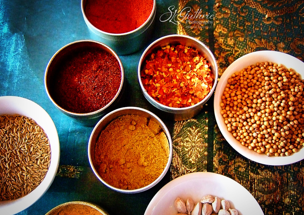 Spices: from the bottom drawer