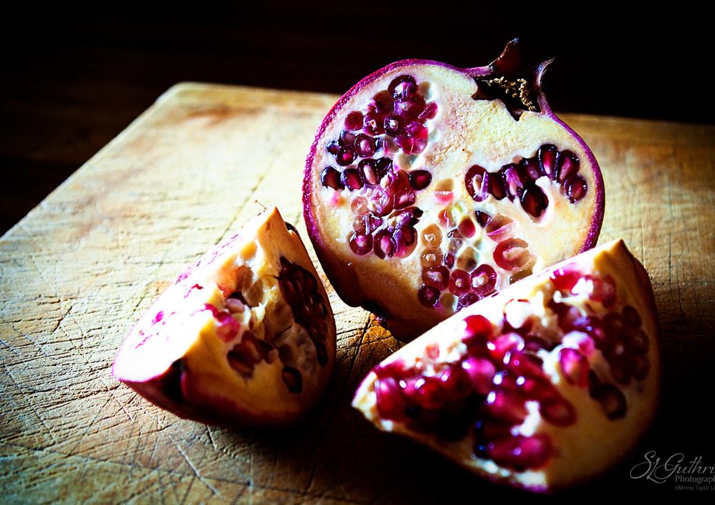 Pomegranates: Exotic Leftovers