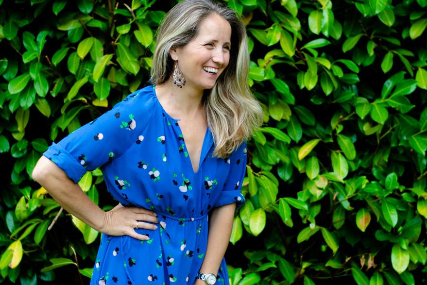 Female entreprenuer branding portrait in