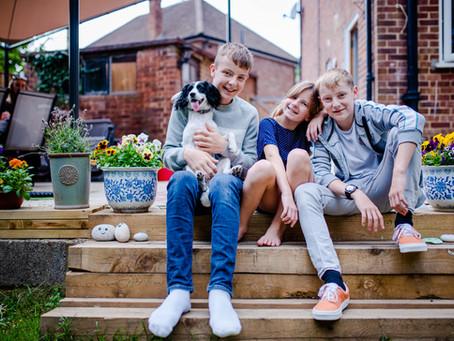 Sibling Love - a fun at home photoshoot