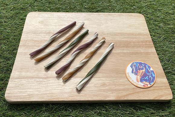 Fruit & Veg Straws with added Coconut Oil