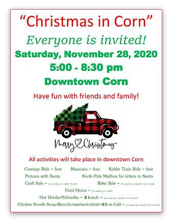 Christmas in Corn, Oklahoma 2020
