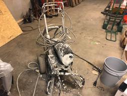 Breaking a machine down