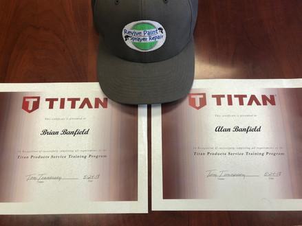 Titan certified