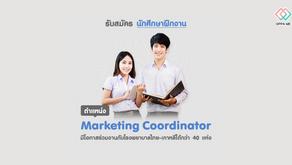 Oppa Me รับสมัครนักศึกษาฝึกงาน Marketing Coordinator