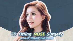 3D Fitting Nose Surgery จำลองภาพสามมิติก่อนผ่าตัด