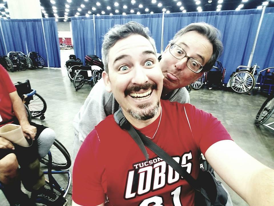 Brandon & Mike goofy