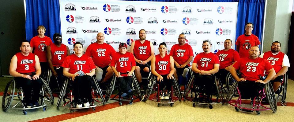 Lobos Team at Nationals