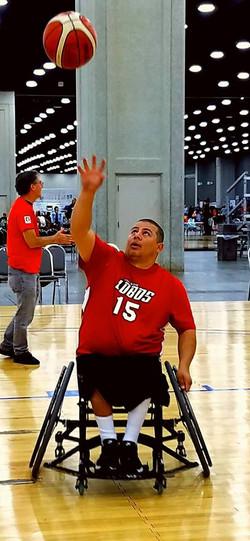 Tony at Nationals