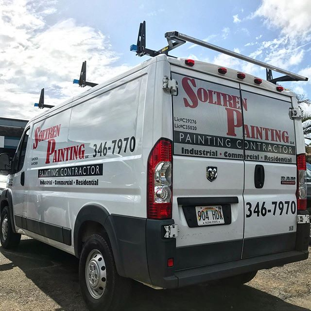 Vehicle Installation @soltrenpainting ..