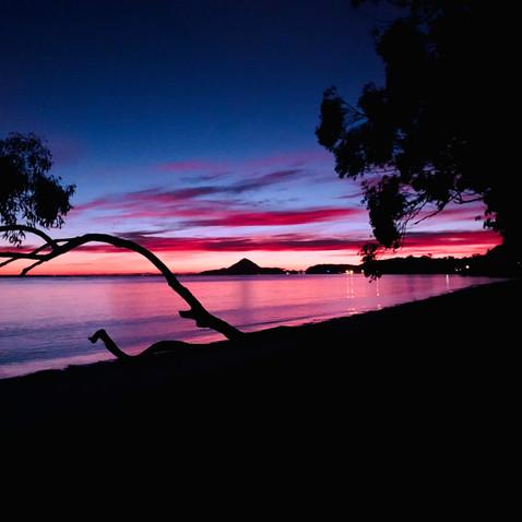 A Spectacular Sunrise at Bagnalls Beach