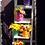 Thumbnail: Маленький весенний сиреневый цилиндр с ирисами