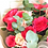 Thumbnail: Букет из пионовидных роз с эвкалиптом