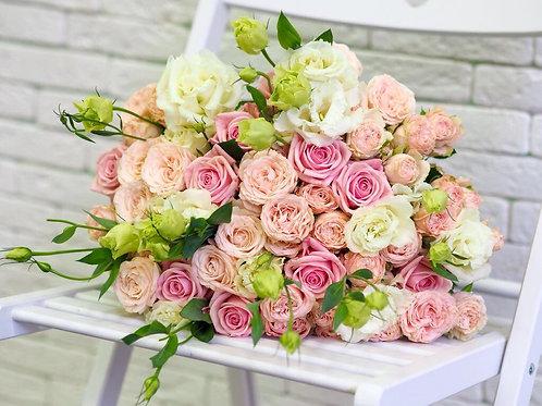 Букет Нежный Розовый