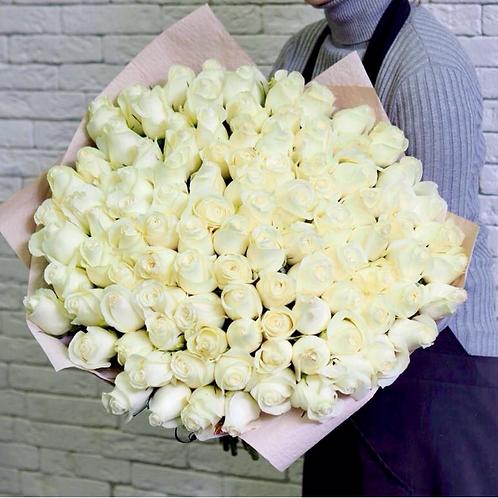 101 эквадорская роза Premium