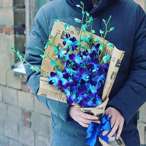 Букет «Синяя орхидея»