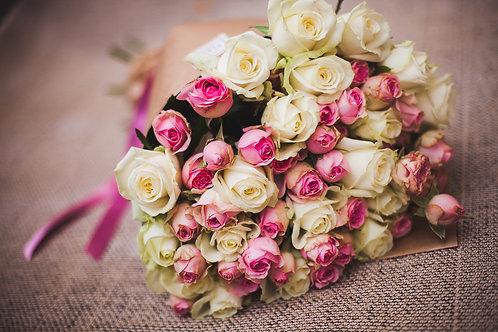 Комбинированный из роз