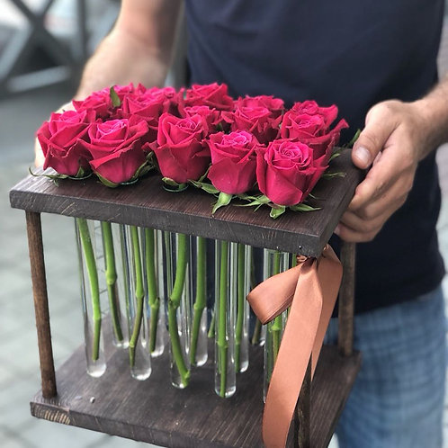 Розы в колбах (25)