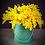 Thumbnail: Маленький весенний цилиндр с мимозой