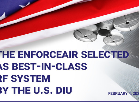 The EnforceAir is the U.S. DIU's core RF system for integration into a C-UAS system!
