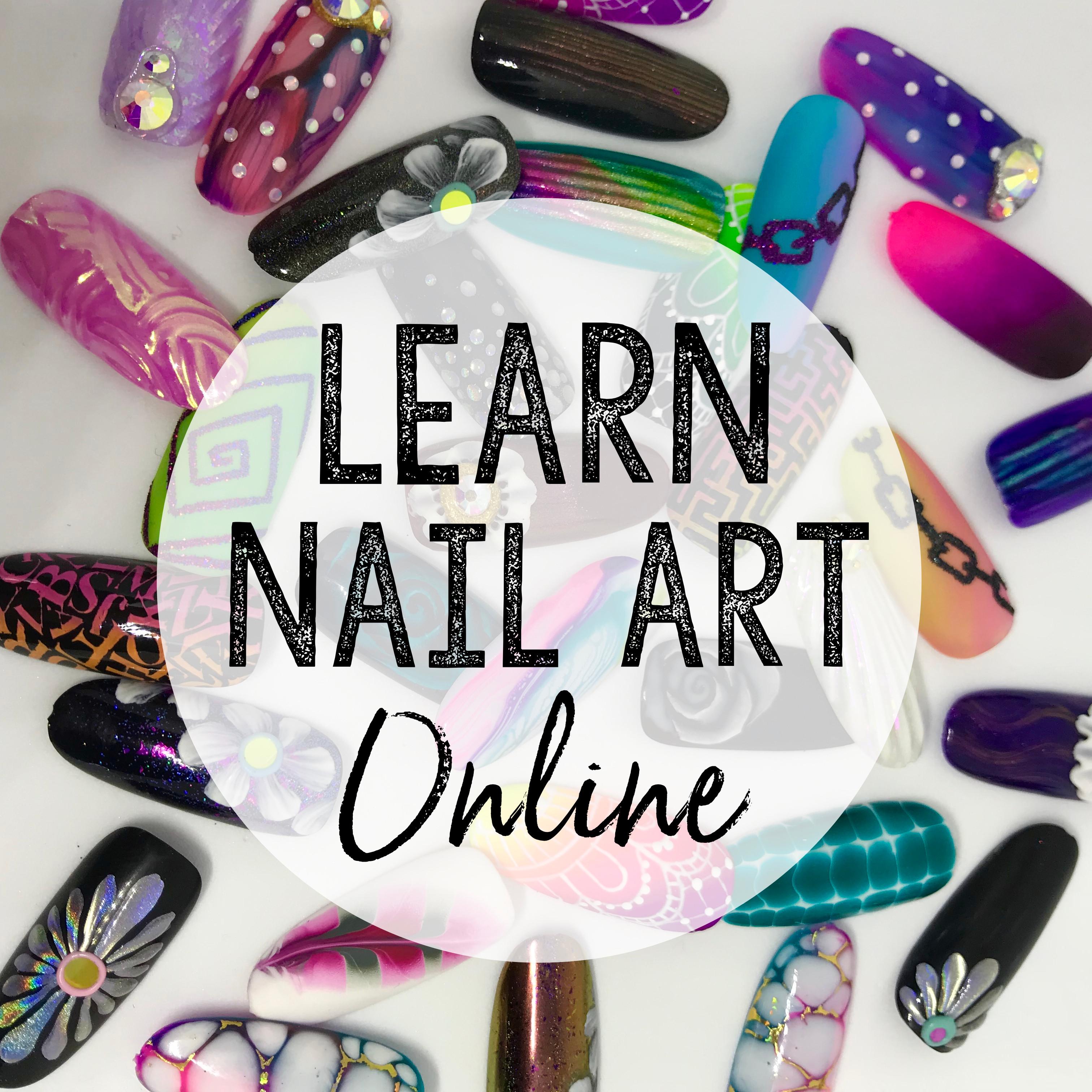 Acade Me Holographic Nail Art - Nail Art Design