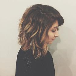 My beauty _emilyray__  #balayage#chicagohairstylist #haircolor #hair #haircut #hairstyles #chicago #