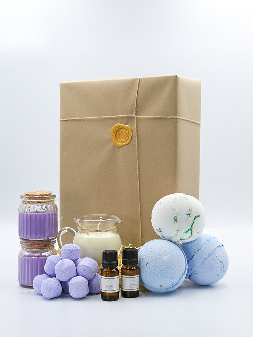 The Purple Brighton Soap Bath Bomb Gift Set
