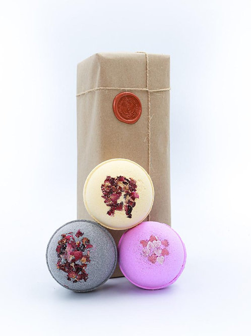 Sweet Rose, Blissful Berry & Secret Potion Bath Bombs Gift set