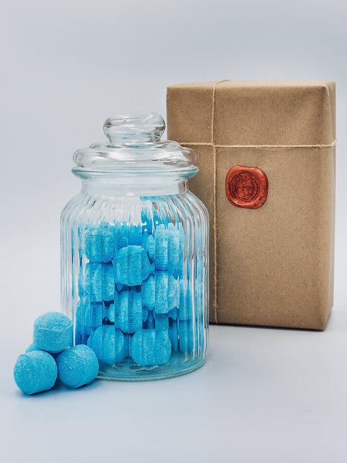 Ylang-ylang Mini Bath Bomb Chill Pills - Glass Jar