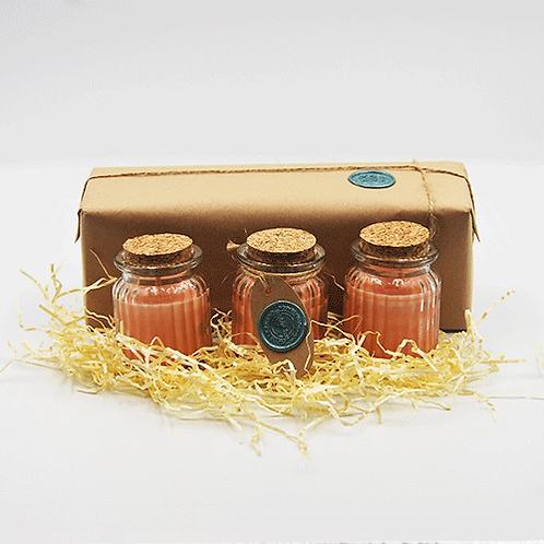 Set of 3 Spiced Orange Candles