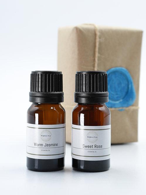 Warm Jasmine & Sweet Rose Essential Oils
