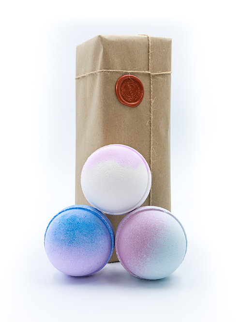 Candy Floss, Marshmallow, Bubble Gum Bath Bomb Gift Set