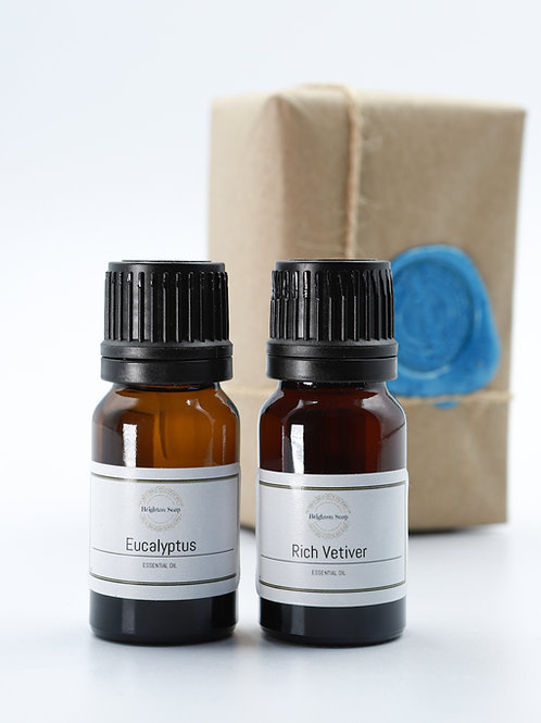 Eucalyptus & Rich Vetiver Essential Oils