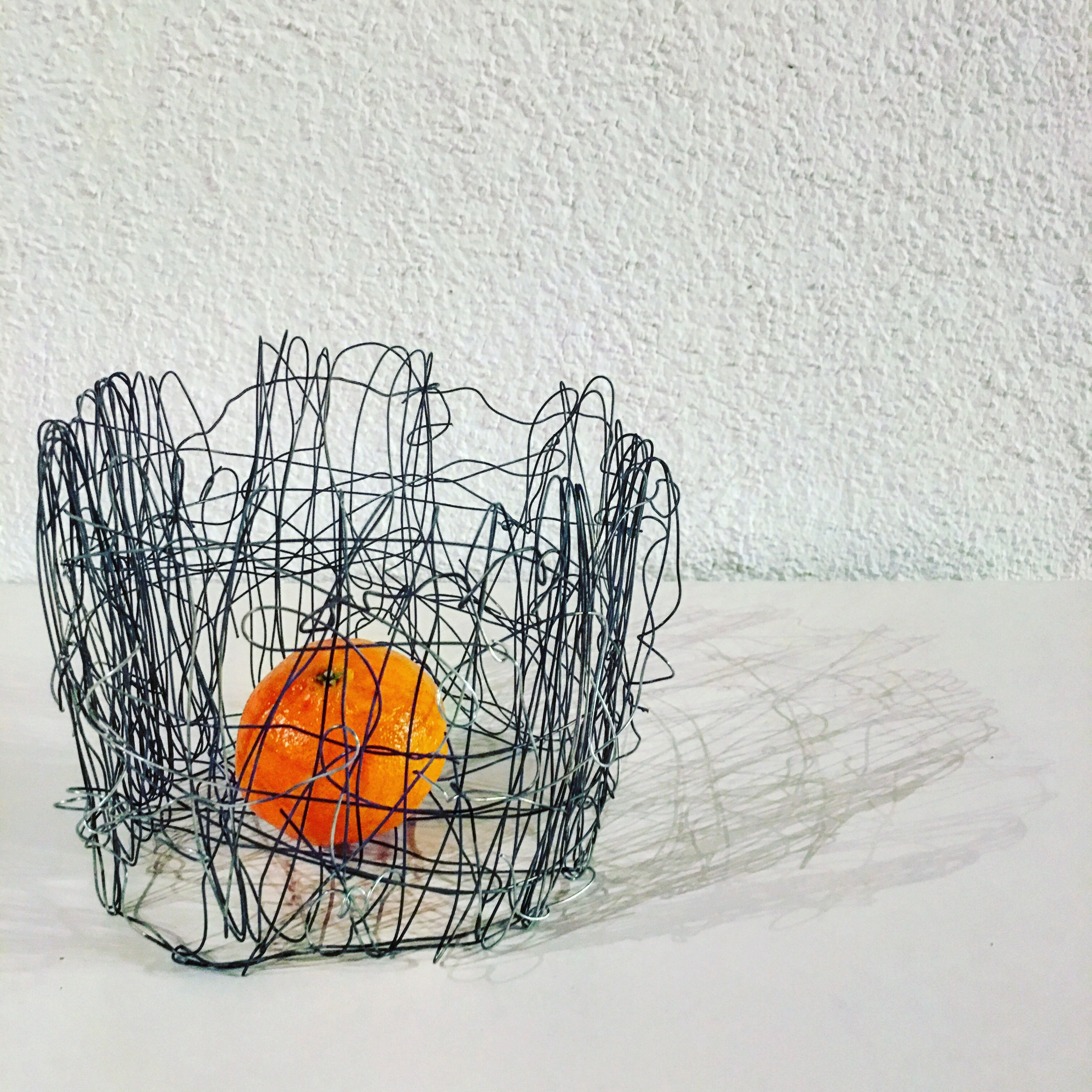 Flamed Wire Sculpture
