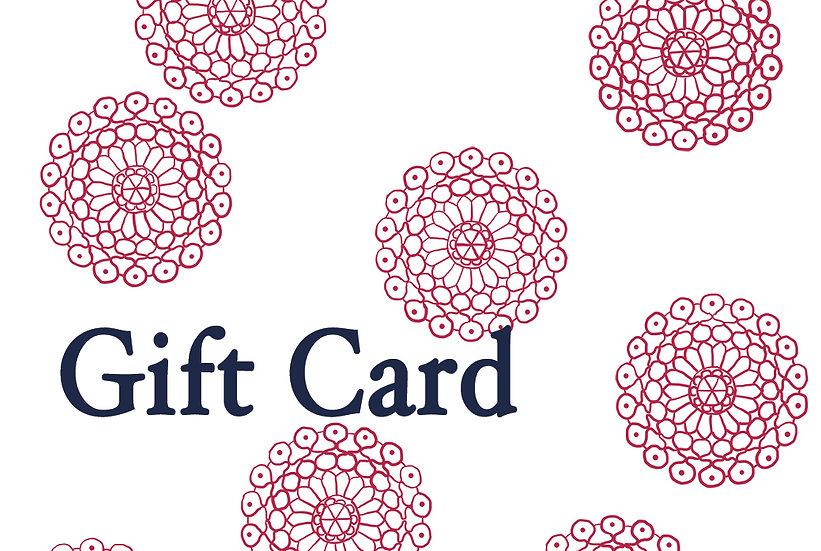 TRö gift card