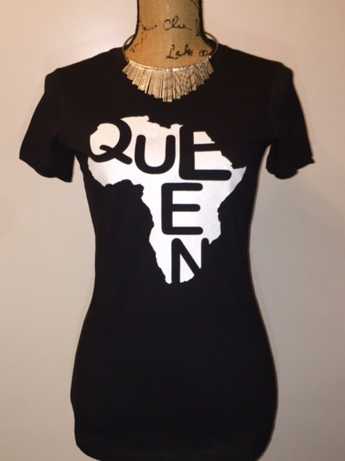Queen White -Multiple Shirt Options