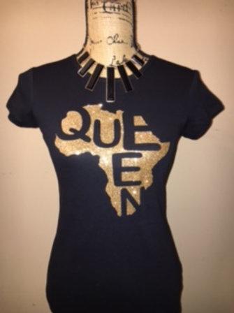 Queen Gold -Multiple Shirt Options